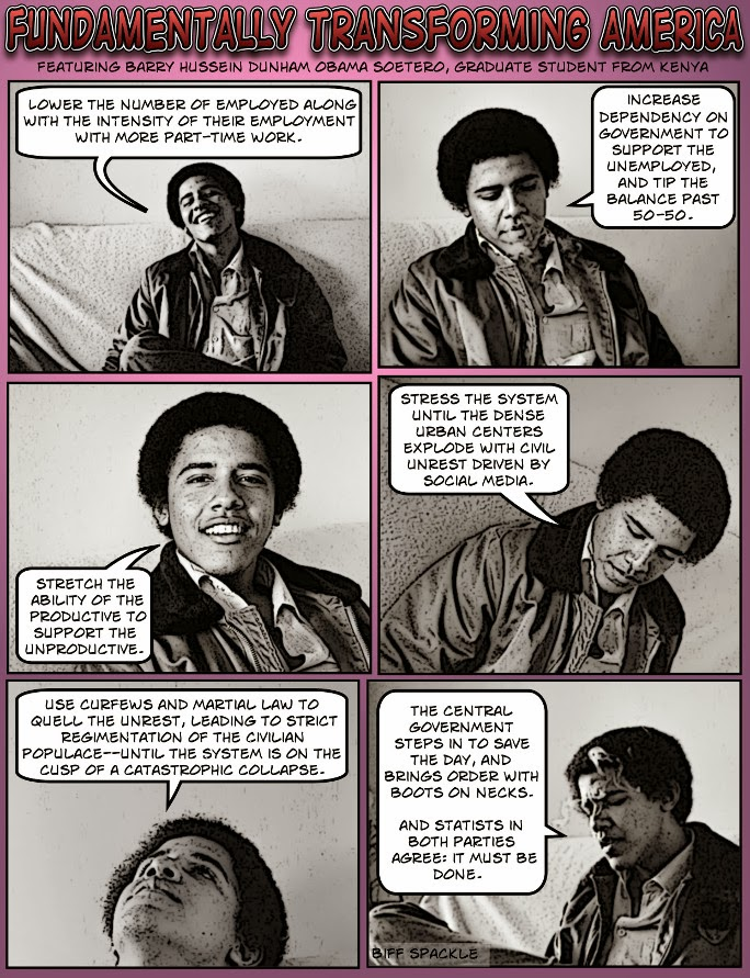 Young Barry Soetoro explains Cloward-Piven
