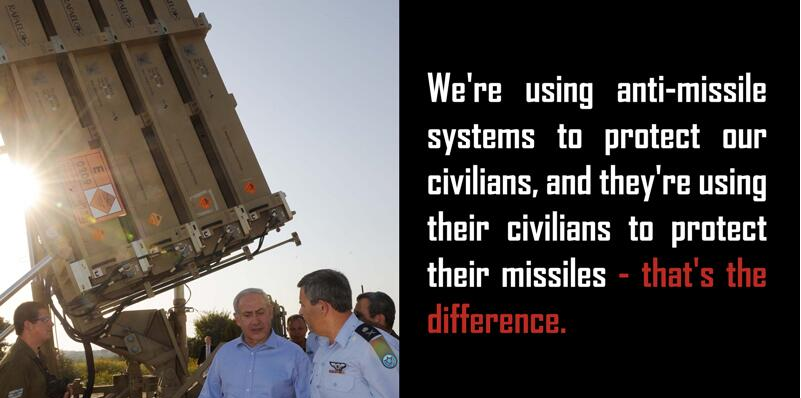 Netanyahu - the difference