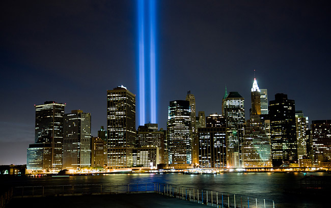 9/11 tribute of light