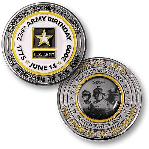 U.S. Army 234th birthday coin