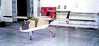 Iraqi drone (UAV) with 25-ft. wingspan