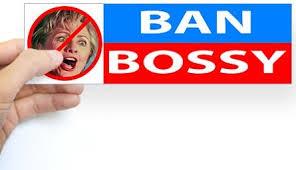 Ban Bossy Hillary bumpersticker