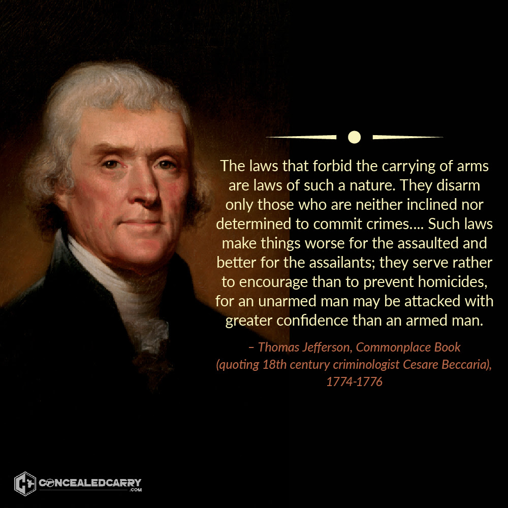 Jefferson on the right to bear arms
